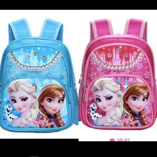 Frozen School Bag Elsa  and Anna