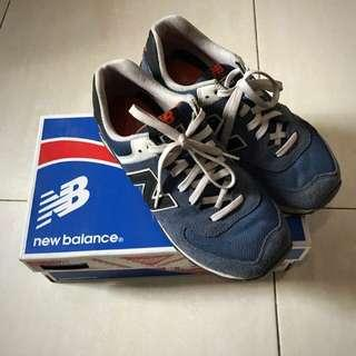 New Balance 574 Original Blue Orange