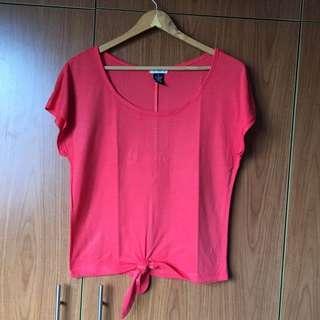 Red Orange Top (M)