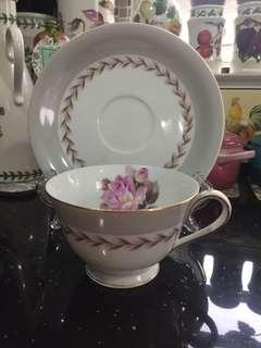 Cup and saucer Noritake