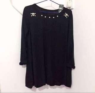 Korea Style girls over size dress/top