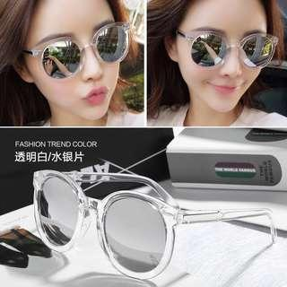 Transparent Frame Sunglasses