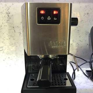 Gaggia Classic Coffee Machine (New Stainless Steel Version)