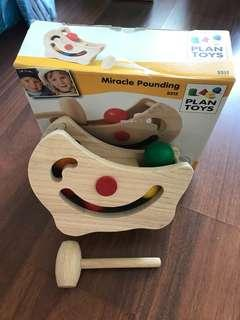 Plan toys- miracle pounding solid wood toy set