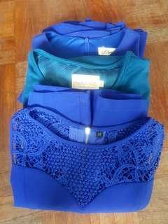 Work Dresses Grab Bag - Blue/Teal Series