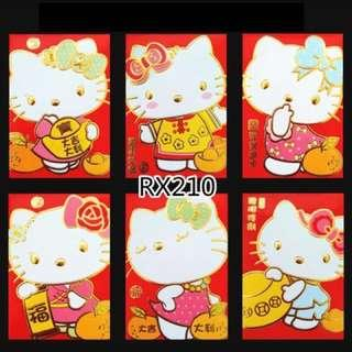 🚚 BUY 3 FREE 1 Hello Kitty Red Packets Angbaos