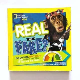 NatGeo Kids Real or Fake?