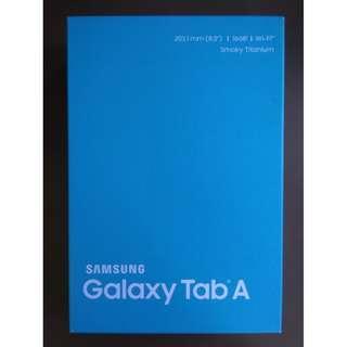 """8"""" Samsung Galaxy Tab A Tablet 16GB 8 inch Smokey Titanium"""