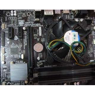 主機板 CPU 顯示卡 SSD 記憶體