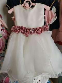 Princess dress perfect for wedding & 1 yr old party