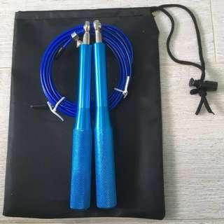 Skipping Rope (Speed Wire Cable) Blue