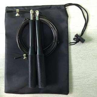 Skipping Rope (Speed Free Rotating Bearing) Black