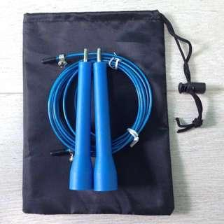 Skipping Rope (Speed Free Rotating Bearing) Blue Colour