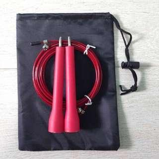 Skipping Rope (Speed Free Rotating Bearing) Red Colour