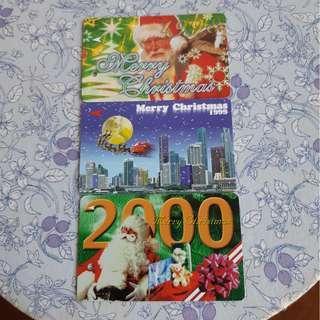 Merry Christmas Card 1998-2000