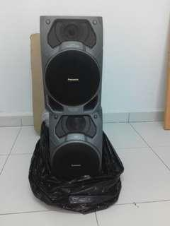 kotak box speaker panasonic hifi