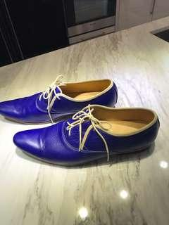 A pair of beautiful men's shoes