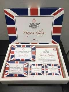 🚚 英國著名品牌HEYLAND & WHITTLE英倫禮讚手工皂禮盒 希望與容耀系列