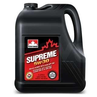 Petro-Canada SUPREME 5w-30 Synthetic Like Engine Oil (4L)