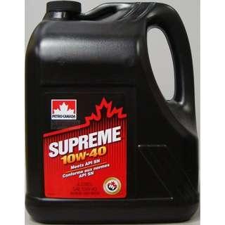 Petro-Canada SUPREME 10w-40 Engine Oil (4L)