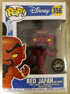 Funko Pop - Red Jafar as Genie GITD