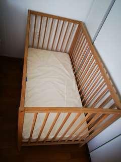 Ikea singlar cot no mattress