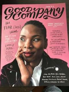 Good company ISSUE 2 - the fearless issue