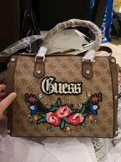 Guess Badlands Satchel Handbag