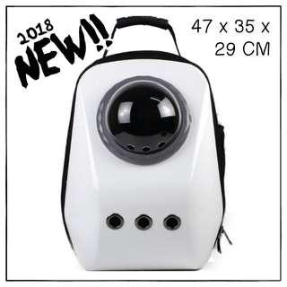 """""""White"""" Upsize Cat Bubble Backpack Carrier"""