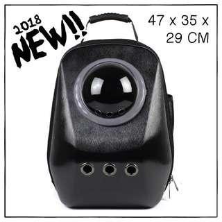 """""""Black"""" Upsize Cat Bubble Backpack Carrier"""