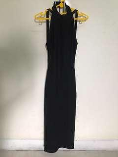 Bershka - backless evening dress XS net price