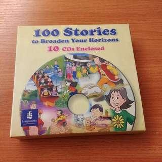Longman 100 Stories CDs 小學故事 學英文
