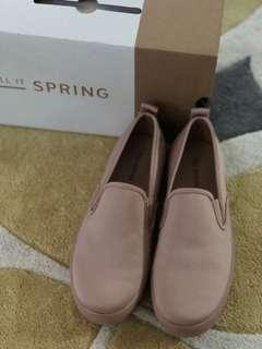PINK SUEDE CASUAL SHOES