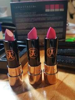 *new* Anastasia Matte Lipstick Set