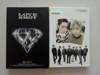 [INSTOCKS] EXO Love Shot Albums