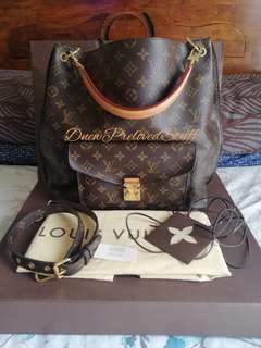 Louis Vuitton Monogram Metis Hobo Bag