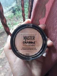 Master Chrome + Free Emina Cheek Lit