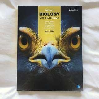Biology 3/4 Textbook + Access Code
