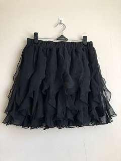 Black mini skirt 10