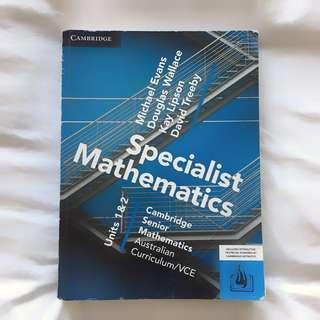 Cambridge 1/2 Specialist Mathematics Textbook