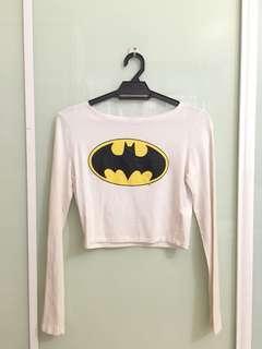 H&M Batman crop top