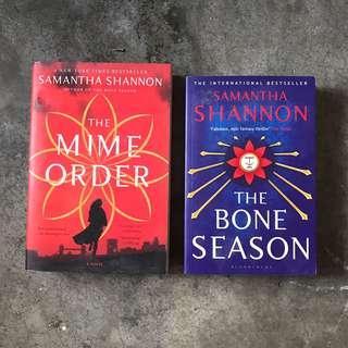 The Bone Season, The Mime Order by Samantha Shannon