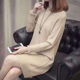 Brand new khaki sweater