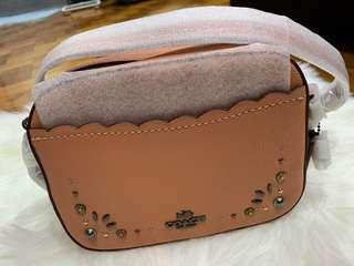 Coach Leather sling