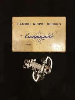 Vintage Campagnolo Nouve Record rear derailleur with original box.