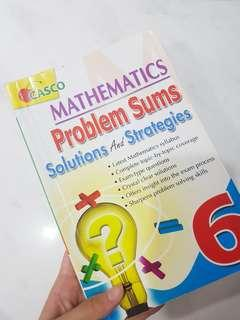 Mathematics problem sums solutions and strategies primary 6/p6