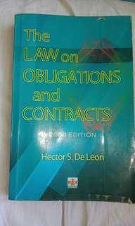 The law of obligations and contracts