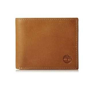Authentic Timberland Leather Bifold Wallet Instock