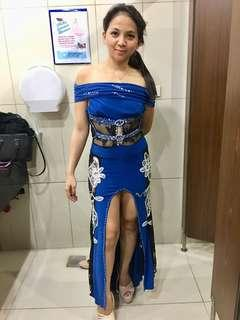 Evening long gown