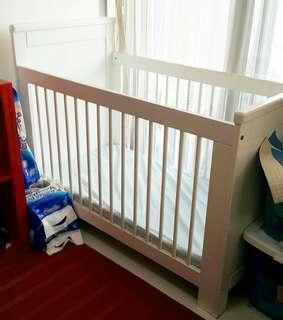 (From Australia) Baby Cot with Mattress